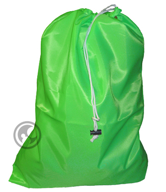 Large Laundry Bag, Fluorescent Lime Green