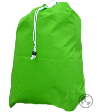 Medium Laundry Bag, Lime Green