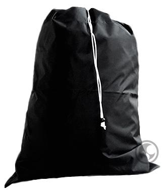 Extra Large Nylon Laundry Bag for College Students, Black