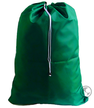 Extra Large Nylon Laundry Bag, Green