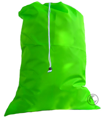 Extra Large Nylon Laundry Bag, Lime Green