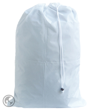 Extra Large Nylon Laundry Bag, White