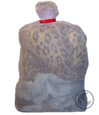 large open top mesh laundry bag, lavender